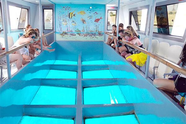 القارب الزجاجي بشرم الشيخ